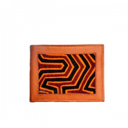 Wallet Men Mola and Leather